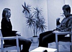 Übungsgespräch mit Simulationsklienten
